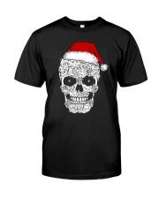 Cat skull christmas 2410 Classic T-Shirt thumbnail