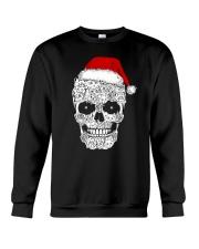 Cat skull christmas 2410 Crewneck Sweatshirt thumbnail