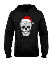 Cat skull christmas 2410 Hooded Sweatshirt front