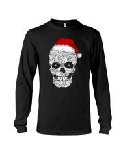 Cat skull christmas 2410 Long Sleeve Tee thumbnail