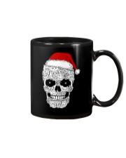 Cat skull christmas 2410 Mug thumbnail