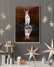 Cornish Rex Cat Reflection Poster 1112 11x17 Poster lifestyle-holiday-poster-1