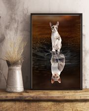 Cornish Rex Cat Reflection Poster 1112 11x17 Poster lifestyle-poster-3