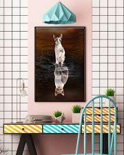 Cornish Rex Cat Reflection Poster 1112 11x17 Poster lifestyle-poster-6