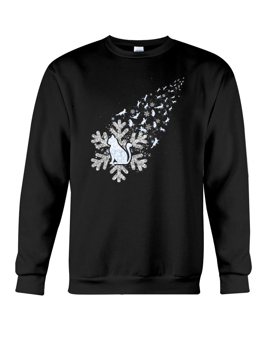 Cat Snow 1510 Crewneck Sweatshirt