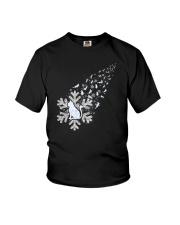 Cat Snow 1510 Youth T-Shirt thumbnail