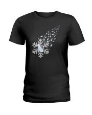 Cat Snow 1510 Ladies T-Shirt thumbnail