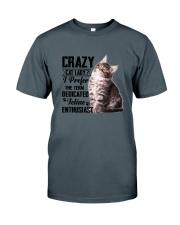 Crazy cat Lady 1910 Classic T-Shirt thumbnail