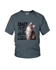 Crazy cat Lady 1910 Youth T-Shirt thumbnail