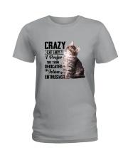 Crazy cat Lady 1910 Ladies T-Shirt thumbnail