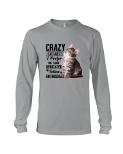 Crazy cat Lady 1910 Long Sleeve Tee thumbnail