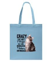 Crazy cat Lady 1910 Tote Bag thumbnail