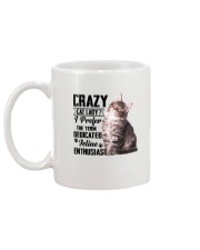 Crazy cat Lady 1910 Mug back