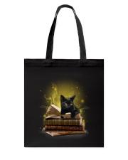 Black Cat My New Bookmark Tote Bag thumbnail