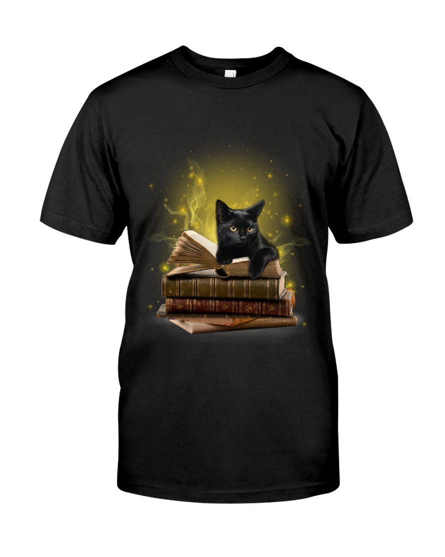 Black Cat My New Bookmark Classic T-Shirt