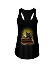 Black Cat My New Bookmark Ladies Flowy Tank thumbnail