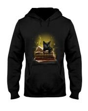 Black Cat My New Bookmark Hooded Sweatshirt thumbnail