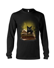 Black Cat My New Bookmark Long Sleeve Tee thumbnail