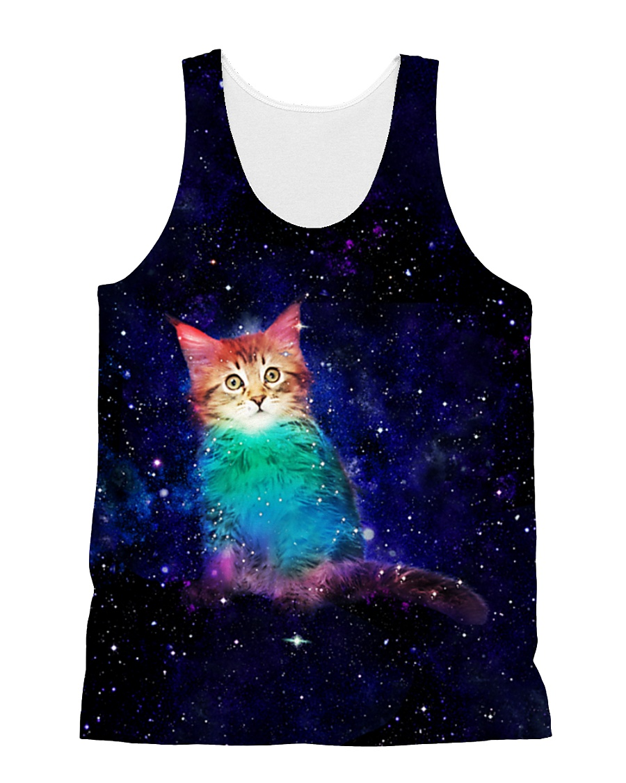 MAINE COON GALAXY  All-over Unisex Tank