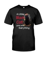 Little black cat Classic T-Shirt front