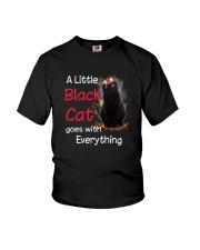 Little black cat Youth T-Shirt thumbnail