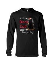 Little black cat Long Sleeve Tee thumbnail