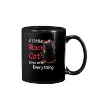 Little black cat Mug thumbnail