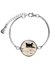 Black Cat Mummy 1508 Metallic Circle Bracelet thumbnail