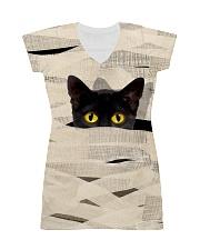 Black Cat Mummy 1508 All-over Dress thumbnail