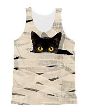 Black Cat Mummy 1508 All-over Unisex Tank front