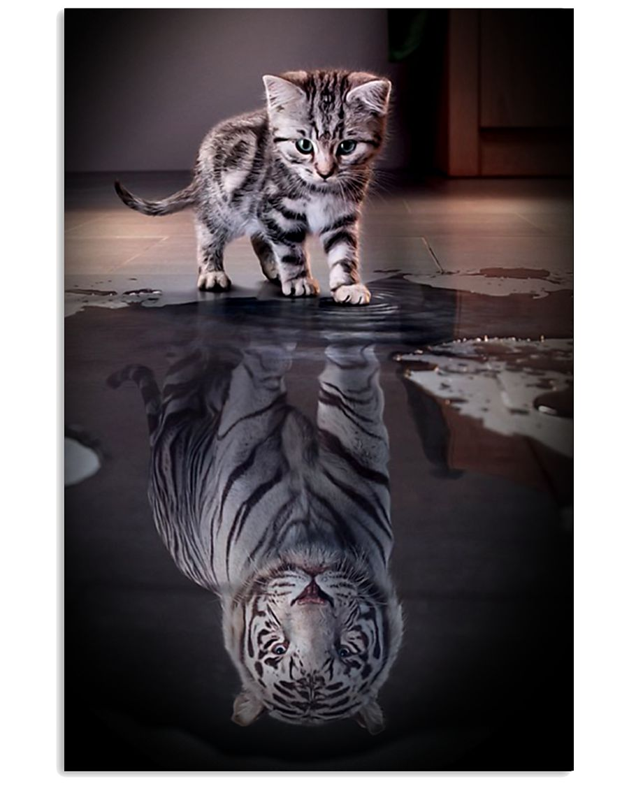 Cats Believe in Yourself 16x24 Poster