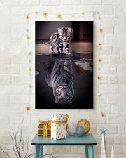 Cats Believe in Yourself 16x24 Poster lifestyle-holiday-poster-3
