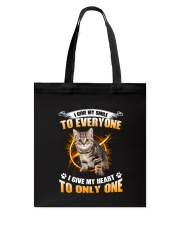 Cat Give Heart 1008 Tote Bag thumbnail