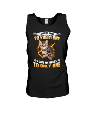 Cat Give Heart 1008 Unisex Tank thumbnail