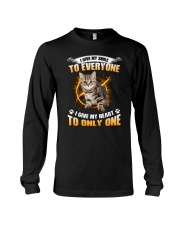 Cat Give Heart 1008 Long Sleeve Tee thumbnail
