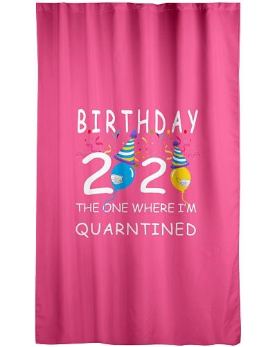 Birthday 2020 Quarantined - Social Distancing