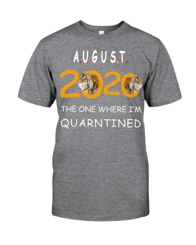 August Birthday 2020 Quarantined