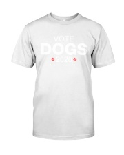Vote dogs 2020 yard sign Classic T-Shirt thumbnail