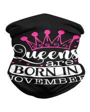 Queens Are Born In November Neck Gaiter thumbnail