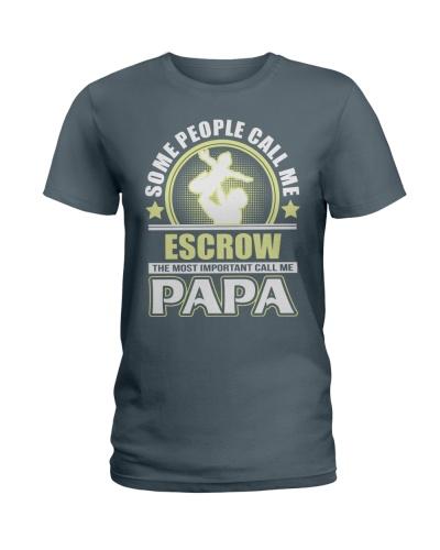 CALL ME ESCROW PAPA JOB SHIRTS