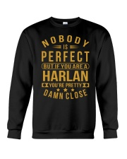NOBODY PERFECT HARLAN NAME SHIRTS Crewneck Sweatshirt thumbnail