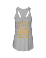 NOBODY PERFECT HARLAN NAME SHIRTS Ladies Flowy Tank thumbnail