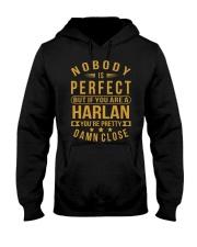 NOBODY PERFECT HARLAN NAME SHIRTS Hooded Sweatshirt thumbnail