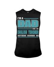 DAD AND ENGLISH TEACHER JOB SHIRTS Sleeveless Tee thumbnail