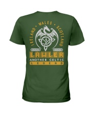 LAWLER ANOTHER LEGEND SHIRTS Ladies T-Shirt back