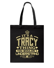 TRACY THING GOLD SHIRTS Tote Bag tile