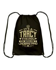 TRACY THING GOLD SHIRTS Drawstring Bag thumbnail