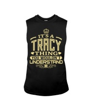 TRACY THING GOLD SHIRTS Sleeveless Tee tile