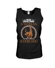 Scooby Doo woman Unisex Tank thumbnail