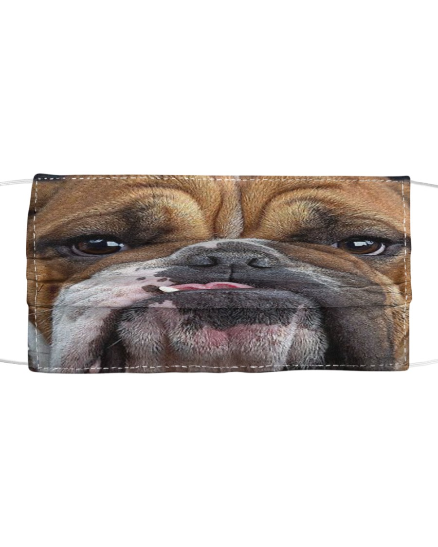 English Bulldog Cloth Face Mask Cloth face mask